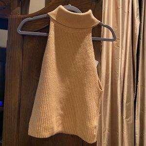 Cute Urban Outfitter Sleeveless Turtleneck Sweater